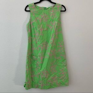 Lilly Pulitzer Coral Me Crazy Dress